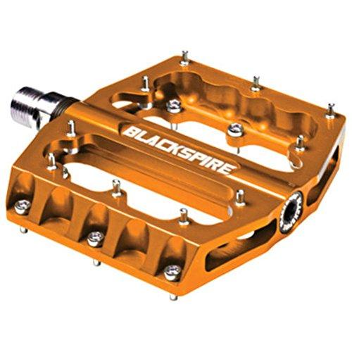 Blackspire Pedal Sub4 Orange Cnc Alloy Cro-Mo Axle from Blackspire