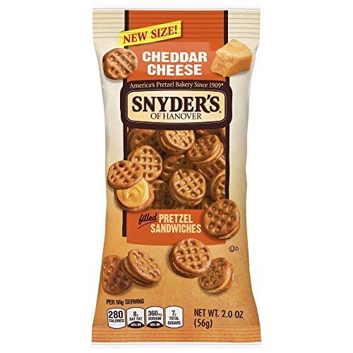 Snyder's of Hanover Pretzel Sandwiches Cheddar Cheese,
