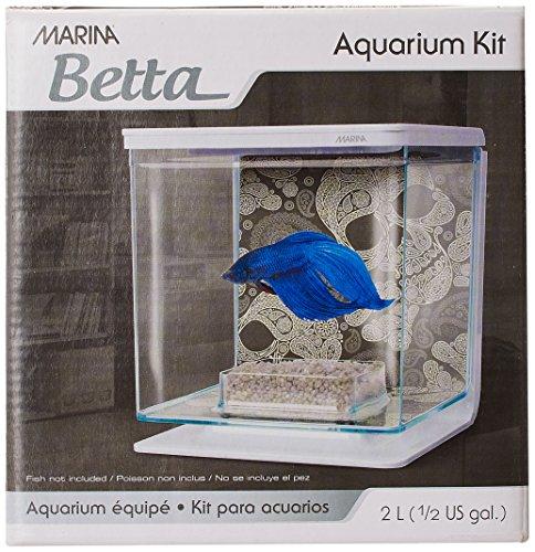 - Marina Betta Aquarium Starter Kit, Skull