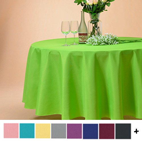 Remedios 132 inch Round Polyester Tablecloth