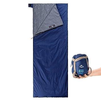 Linnuo Saco de Dormir Camping Ligero Saco de Dormir Interiores de Aviones Trenes Hotel Sábanas Hoja de Viaje de Hotel Aviones Trenes (Azul Oscuro,One Size): ...