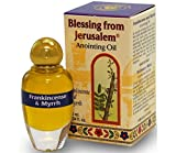Frankincense and Myrrh - Blessing from Jerusalem Anointing oil - 10ml ( .34 fl. oz. )