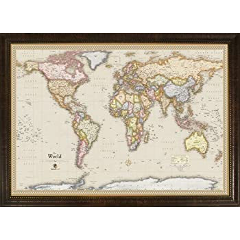 Amazon homemagnetics mm3624wld magnetic travel map of the world homemagnetics mm3624wld magnetic travel map of the world magnets included 39 by 27 gumiabroncs