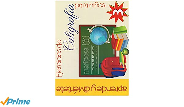 Ejercicios de Caligrafia para Ninos #3 (Spanish Edition): Epoca: 9789706278630: Amazon.com: Books