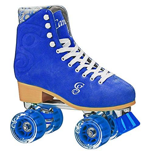 Roller Derby Elite Candi Women's Carlin Roller Skate, Electric Blue, Size 03