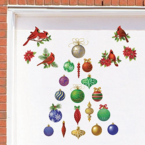 Classic Holiday Garage Magnets Multi