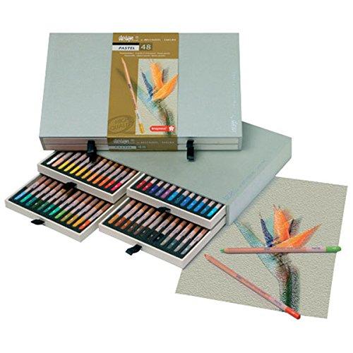 Bruynzeel Design Pastel Pencils - Set of 48
