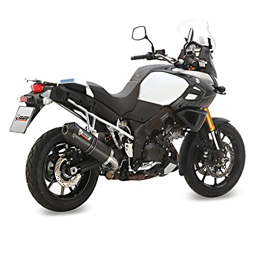 Escape Mivv Oval Suzuki V-Strom 1000 14-17 carbono