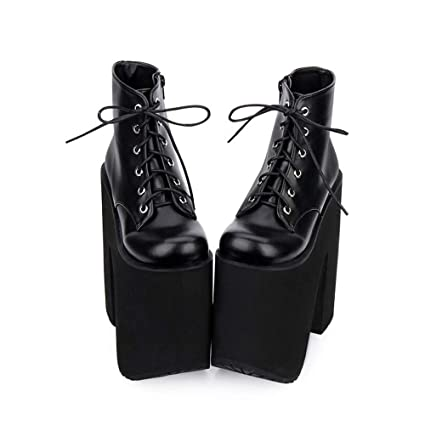 Tian Gao Hate Bottines Chaussures en PINGXIANNV Lolita EWDH2I9