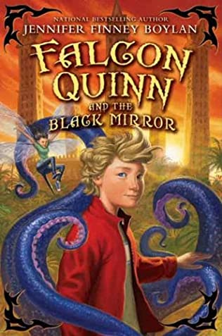 book cover of Falcon Quinn and the Black Mirror