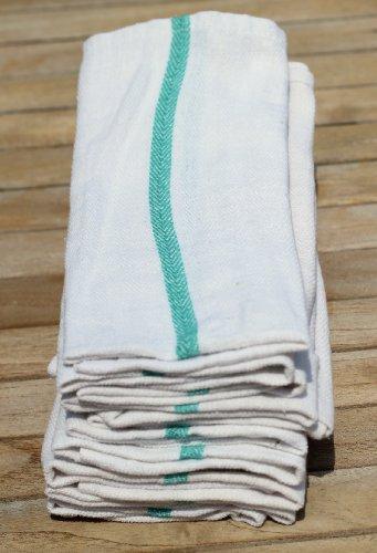 (Economy Dish Towel, Cotton Herringbone, 15x25, 12 pack)