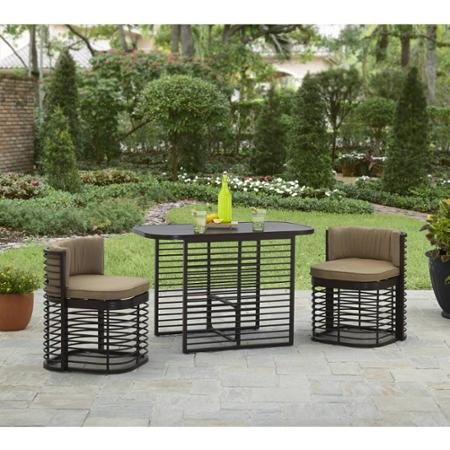 Better Homes and Gardens Murray Hill 3-Piece Small Space Aluminum Set
