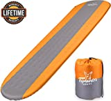 Best Camping Pads - Self Inflating Sleeping Pad Lightweight - Compact Foam Review