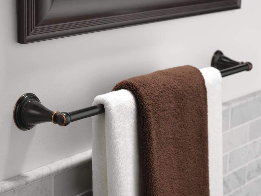 Delta Oil Rubbed Bronze Liberty Hardware Delta Faucet  79618-OB Windemere 18 Towel Bar