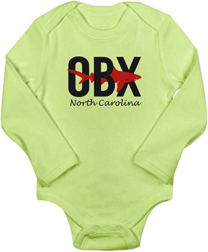 CafePress Outer Banks Shark Body Suit Baby Bodysuit