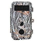 "BlazeVideo Game Trail Hunting Camera 16MP, Low Glow Infrared Wildlife Animal Deer Cam Camouflage, Hunter Scouting Security Surveillance Camera Motion Detection Sensor Activated Waterproof with Night Vision 40PCs IR LEDs Up to 65ft, Video Record, Snapshot, 2.36"" LCD Screen, F2.0 Lens, Fast Trigger Speed"