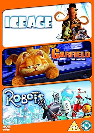 Amazon Com Animated Fun Triple Robots Ice Age Garfield The Import Anglais Movies Tv