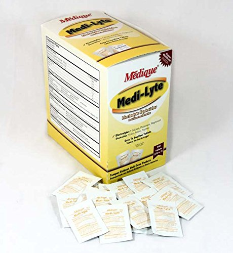 - Medi-Lyte Tablets 500 ct
