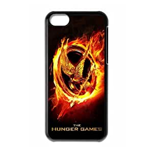 DDOUGS The Hunger Games Brand New Cell Phone Case for Iphone 5C, DIY The Hunger Games Case