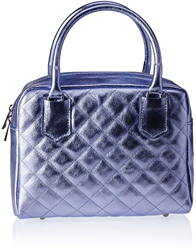 Chicca Borse 8847 - Bolso de hombro Mujer Azul (Blue Blue)