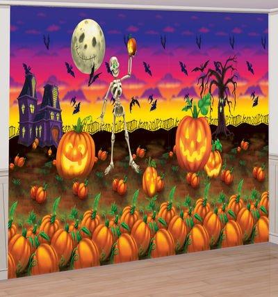 Halloween Wall Mural - Pumpkins Poster Banner Kit