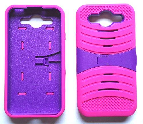 NP CITY Phone Cover Armor Case for LG Optimus G Pro E980 E940 F240L (Spink/Purple U/C)