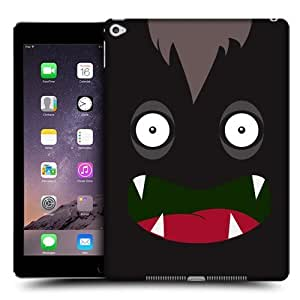 Head Case Designs Black Jolly Monsters Protective Snap-on Hard Back Case Cover for Apple iPad Air 2