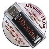 Ubuntu Linux 13.04 on a Bootable 8GB USB Flash Drive - 32-bit and 64-bit.