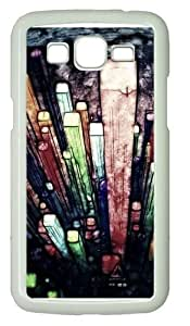 Samsung Grand 7106 Cases & Covers -Abstract Painting Colorful PC case Cover for Samsung Grand 2 and Samsung Grand 7106 White