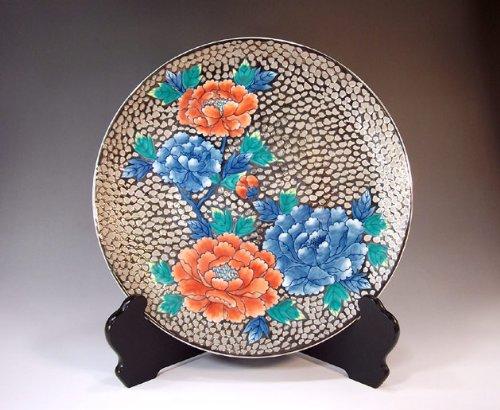 Arita - Imari | pottery ornaments Sarah Kazarisara - platter | gifts | Gifts | souvenir | gift | peony Fujii NishikiAya - Imari Large Platter