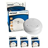 3x Nemaxx WL2 wireless smoke detector smoke detector interconnectable - according to DIN EN 14604