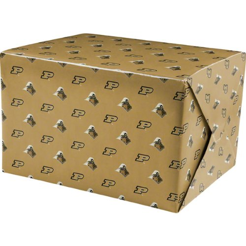 ncaa purdue boilermakers wrapping paper buy online in uae sports products in the uae see. Black Bedroom Furniture Sets. Home Design Ideas