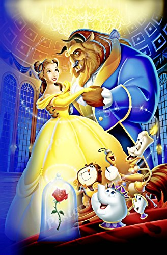 Movie Poster Beast - Poster USA - Disney Classics Beauty and the Beast Poster GLOSSY FINISH- DISN022 (24