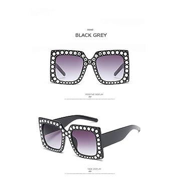 Taiyangcheng Gafas de Sol Mujer Cristal Cuadradas Gafas ...