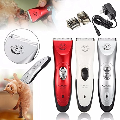 Price comparison product image Pet Cat Dog Clipper Trimmer Groomer Electronic Shaver Hair-cutting Rechargeable Cordless