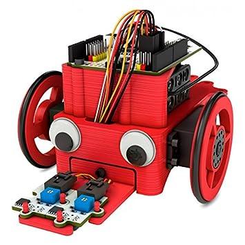 BQ PrintBot Solidario – Marco para kit de robótica, color rojo ...