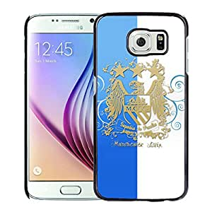 Beautiful And Fashional Designed Cover Case For Samsung Galaxy S6 With Manchester City Black Phone Case 2