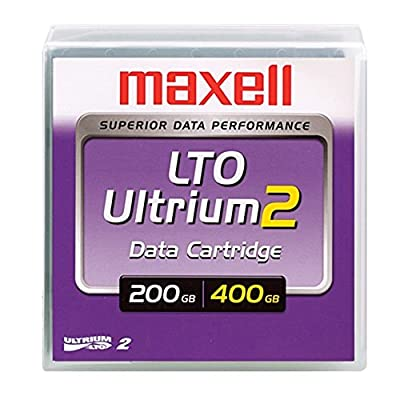 Case of 20 - Maxell LTO Ultrium 2 Data Cartridges 200/400GB from Maxell