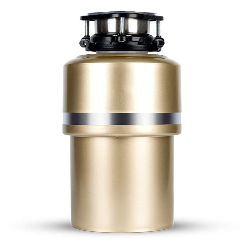 FMTMY Garbage Disposals,Household,Sink Food Waste Disposer Horsepower with Exclusive Silencer Technology Automatic Garbage Grinder with Wireless Remote Control