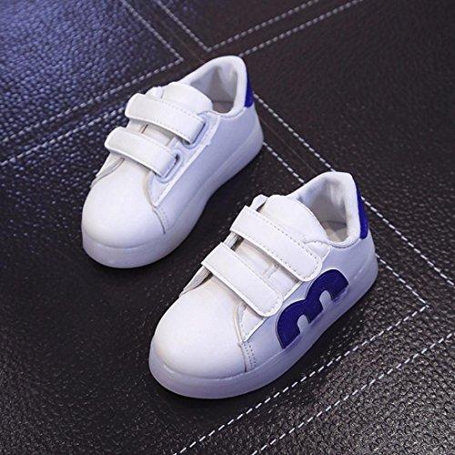 JIANGFU LED Blinkende Schuhe für Jungen und Mädchen