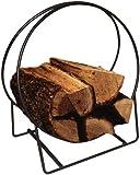 Amazon Com Small Tubular Steel Oval Wood Rack With Tray