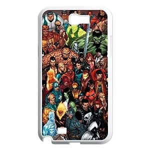 Samsung Galaxy N2 7100 Cell Phone Case White Marvel comic CAO DIY 3D Phone Case