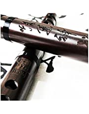 Exquisite Chinese Instrument Aged Rosewood Flute Dizi Professional Level
