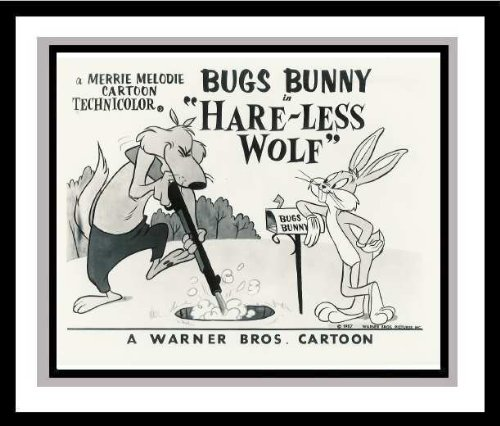 Bugs Bunny in 'Hare-Less Wolf' Lobby Card Publicity Still Warner Bros.