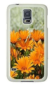 Samsung S5 case funny cases Daisy 1 PC White Custom Samsung Galaxy S5 Case Cover