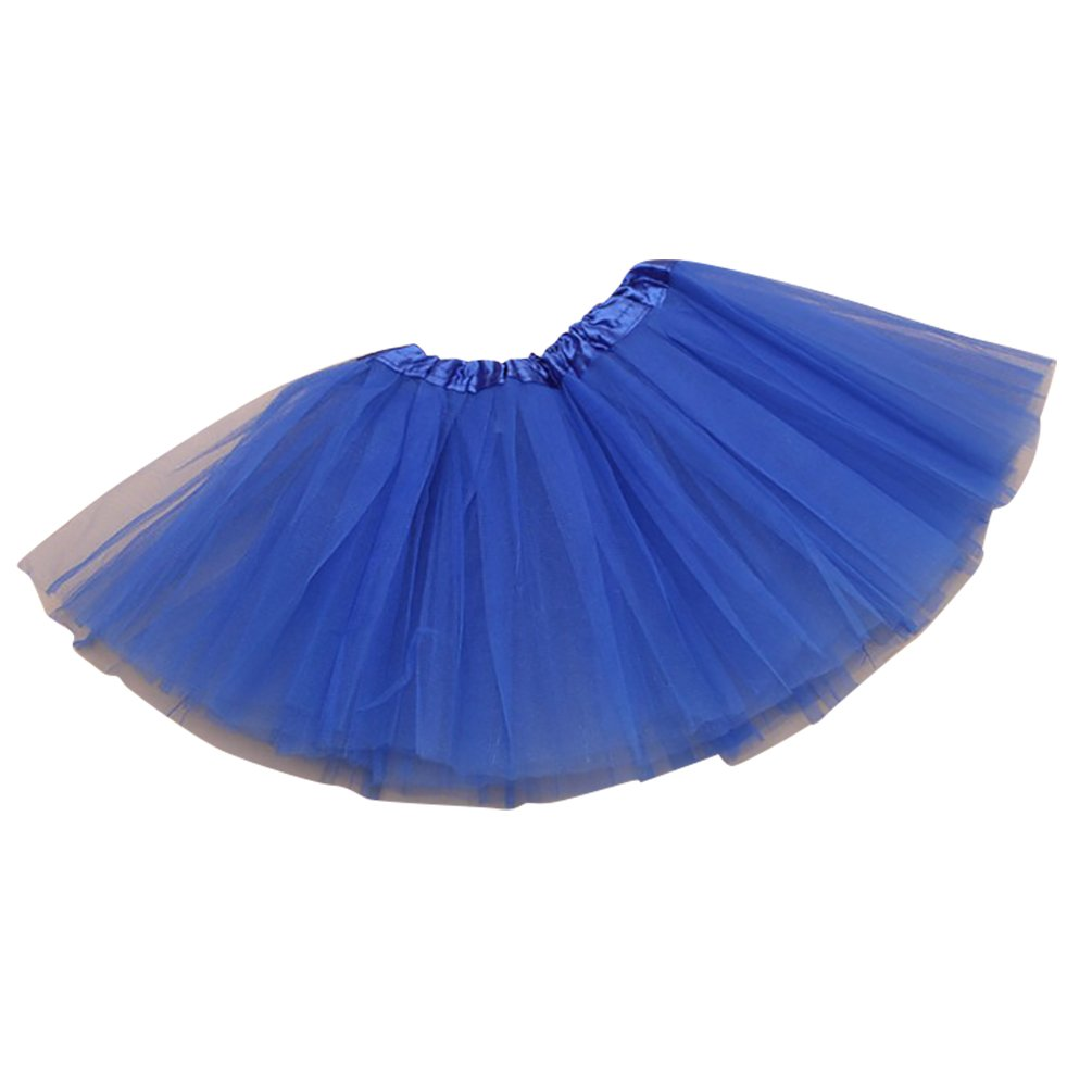NiSeng Girl Tulle Tutu Skirt Petticoat Ballet Dance Dress Various Colors