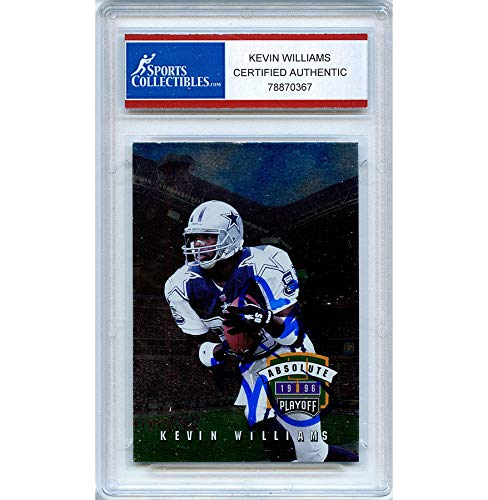 Kevin Williams Autographed Signed 1996 Playoff Corp Trading Card - Certified - Playoff 1996 Card