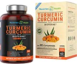 Cheap Turmeric Curcumin with Bioperine Joint Pain Relief – Anti-Inflammatory, Antioxidant Supplement with 10mg of Black Pepper for Better Absorption. Best 100% All Natural Non-GMO Made in USA