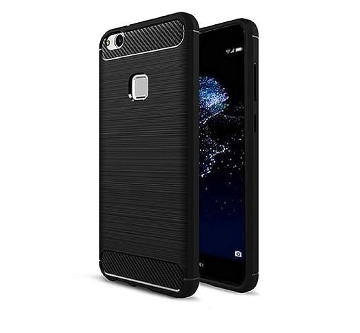 14 opinioni per Custodia Huawei P10 lite, Custodia Armor con Copertura Morbida di Silicone Case