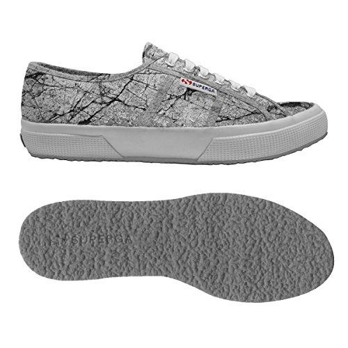 Superga Sneaker Donna Grey Cotu 2750 Stone Fantasy wz81v